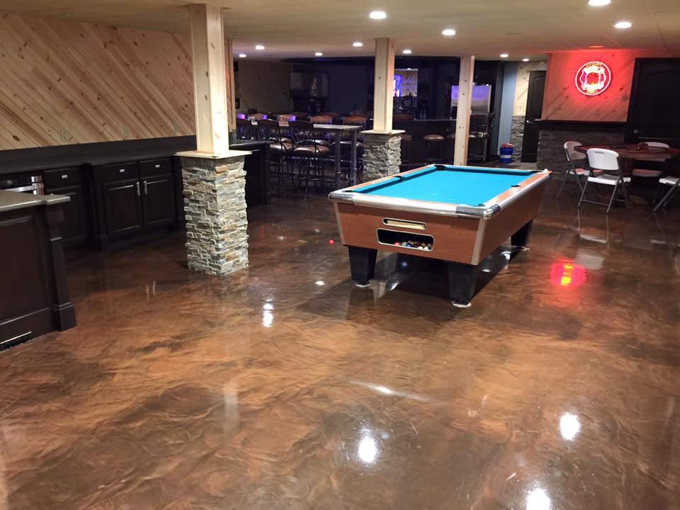 Graf Concrete Construction | Epoxy Flooring | Brookville Indiana