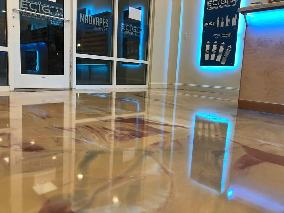 Marble Epoxy Flooring | Indianapolis Indiana